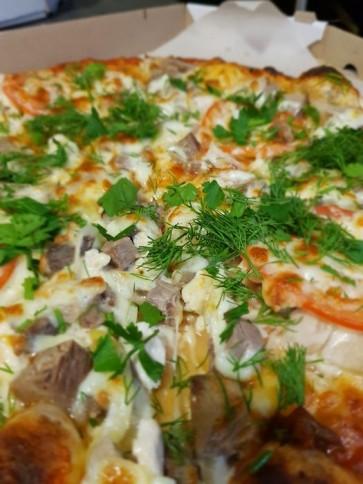 """Пицца """"Украинская"""" ø 35 см 900 гр"""