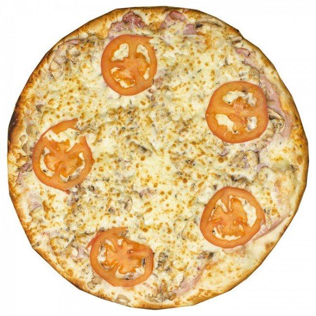 """Пицца """"Ветчина с грибами"""" ø 35 см 800 гр"""