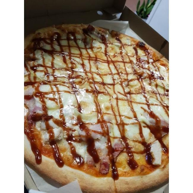 """Пицца """"Курица Барбекю"""" ø 35 см  780 гр"""