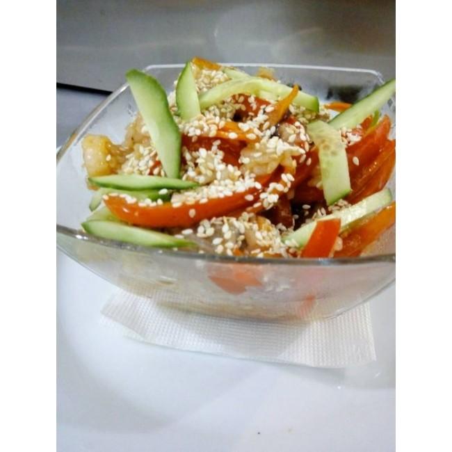 Рис обжареный с овощами 220 г